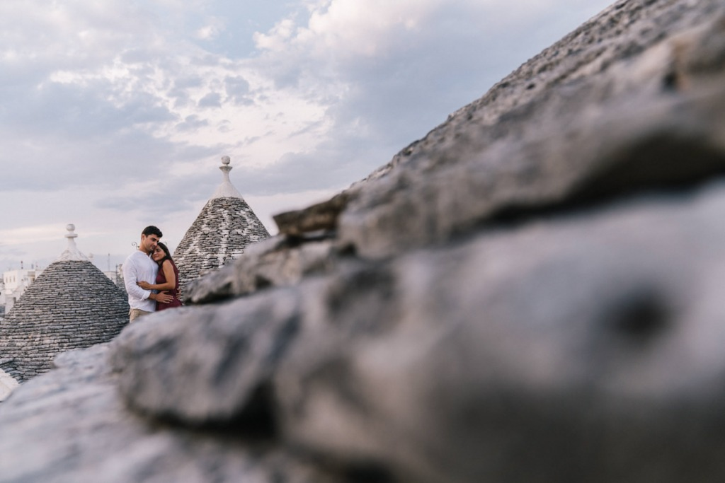 Engagement ad Alberobello